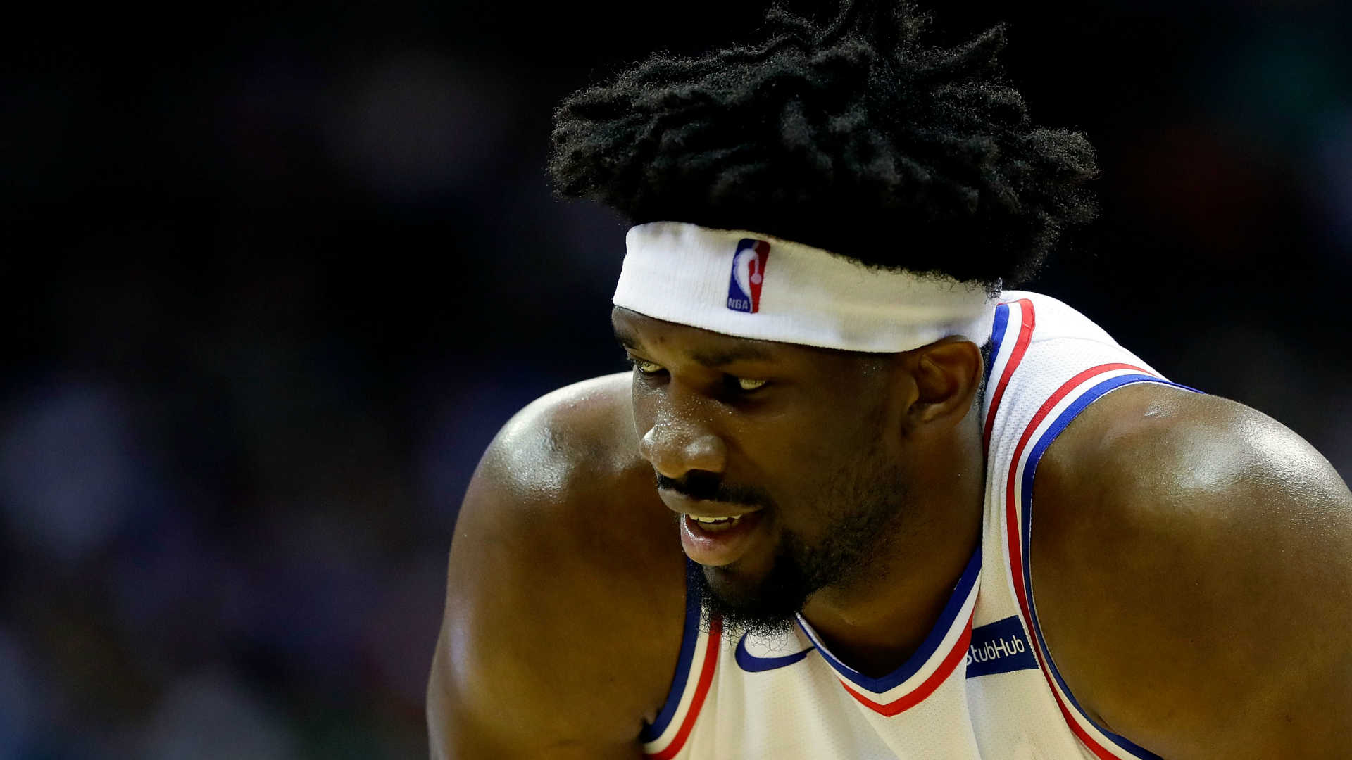 Joel Embiid has historic night on the court and on social media