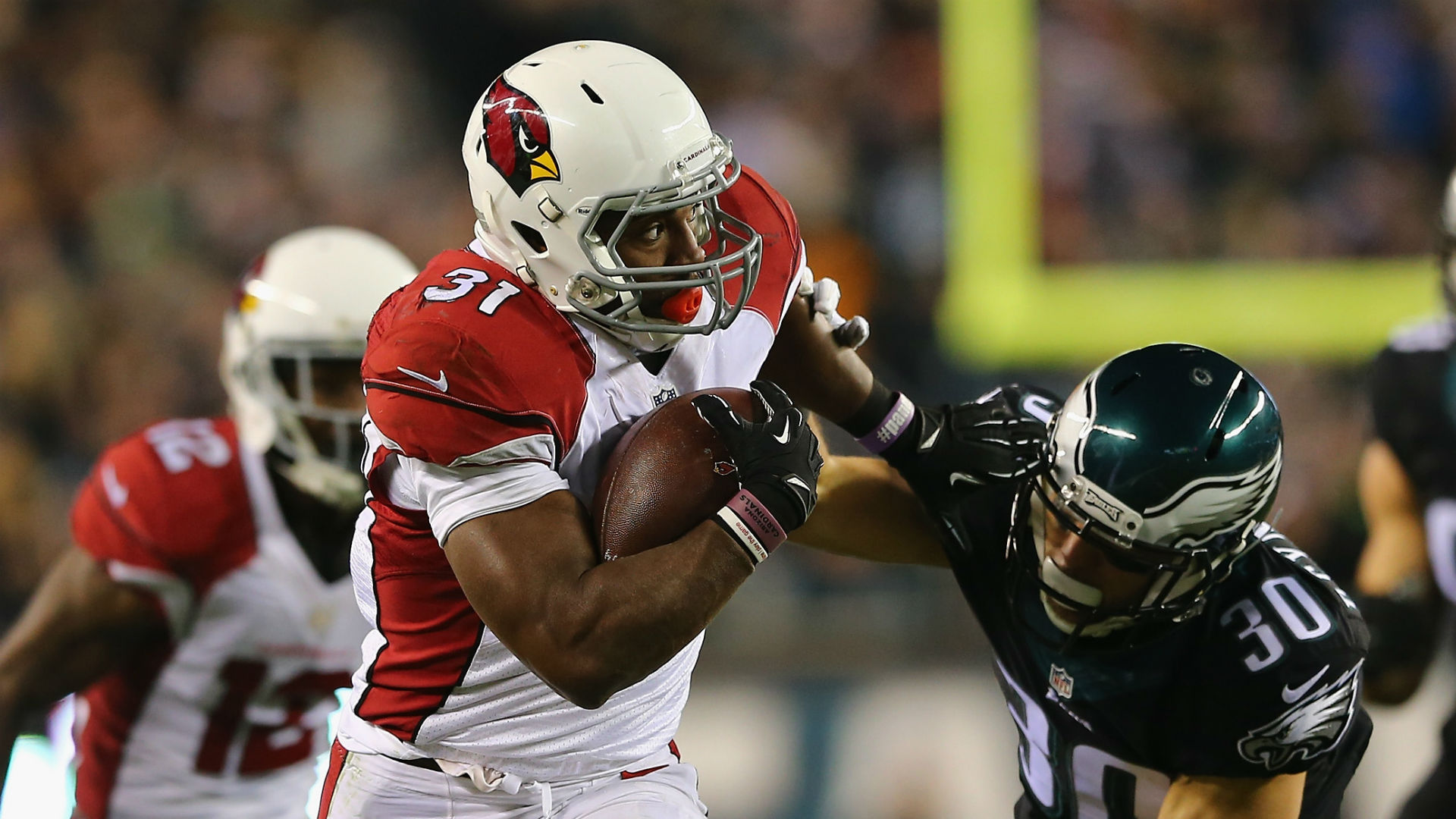 Cardinals ride David Johnson to win over Eagles NFC West title
