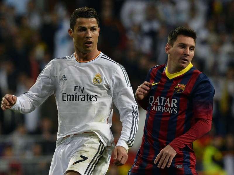 Gol a gol: Cristiano Ronaldo 54-49 Lionel Messi