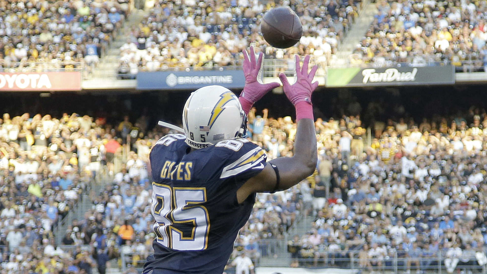 Antonio Gates makes history on Chargers opening drive