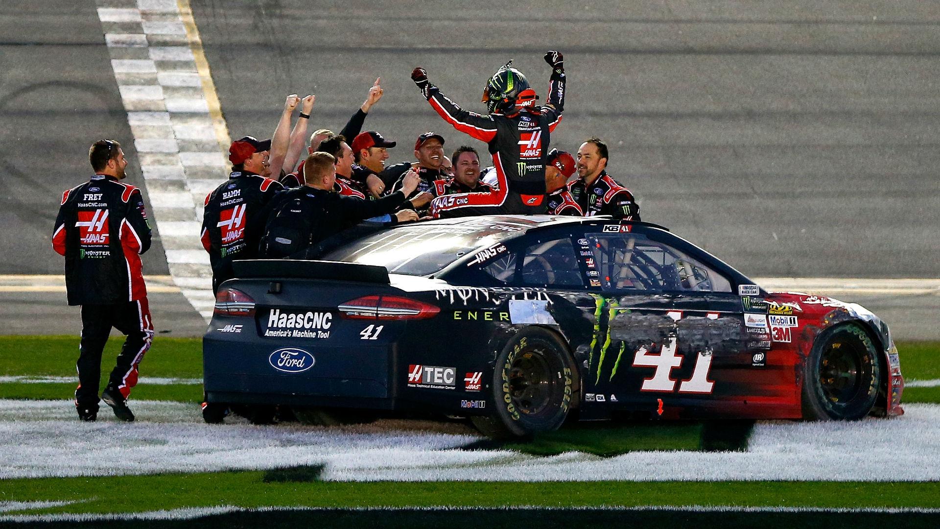 NASCAR starting lineup at Texas: Kurt Busch wins pole in rain-shortened qualifying