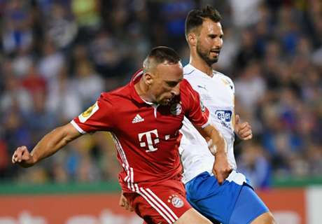 Ribery warned over tough tactics