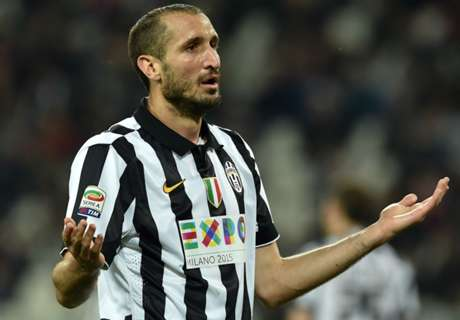 Chiellini ruled out of Supercoppa