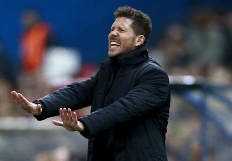 Simeone: Atleti not focused on draw