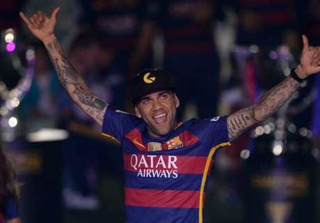 Alves: I've won more than Pele