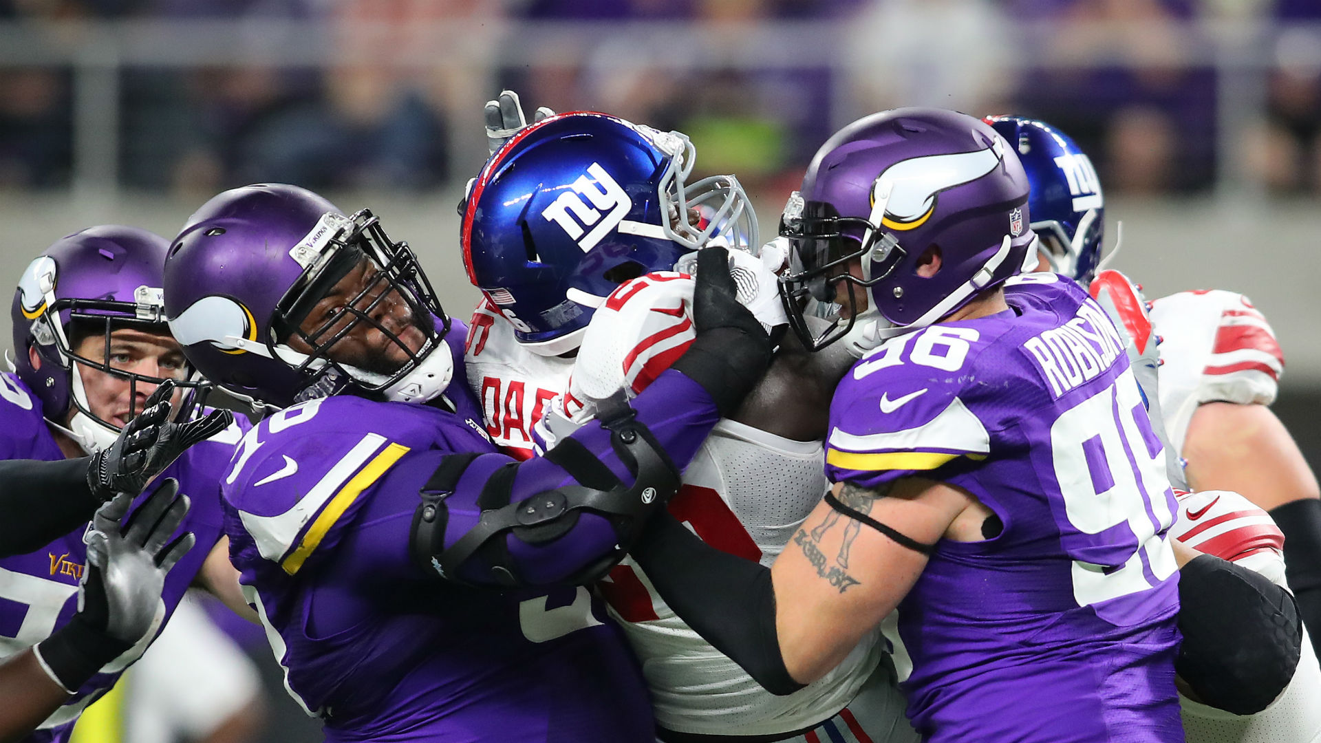 Minnesota Vikings sign Linval Joseph to $50M extension