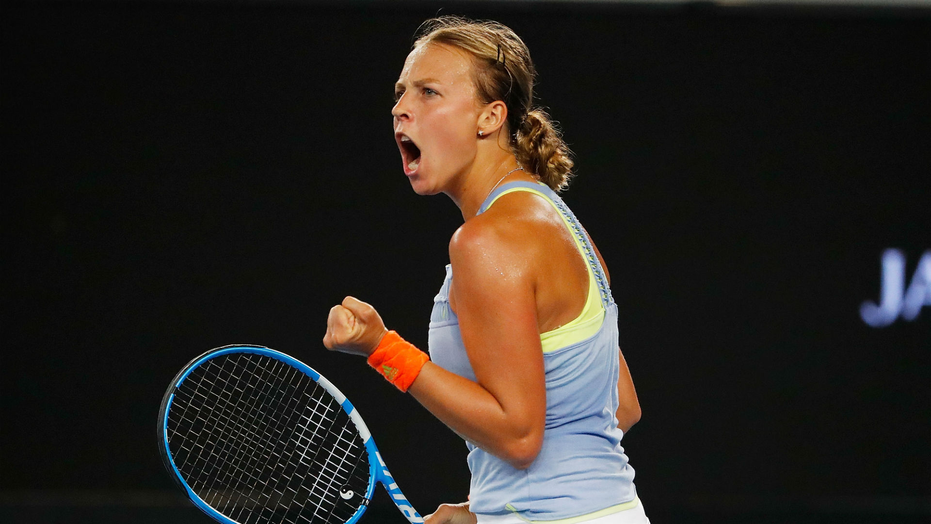 Australia Open: Ostapenko bows out, Wozniacki sails into pre-quarters