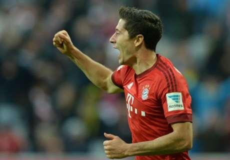 Lewandowski salvó el invicto de Bayern