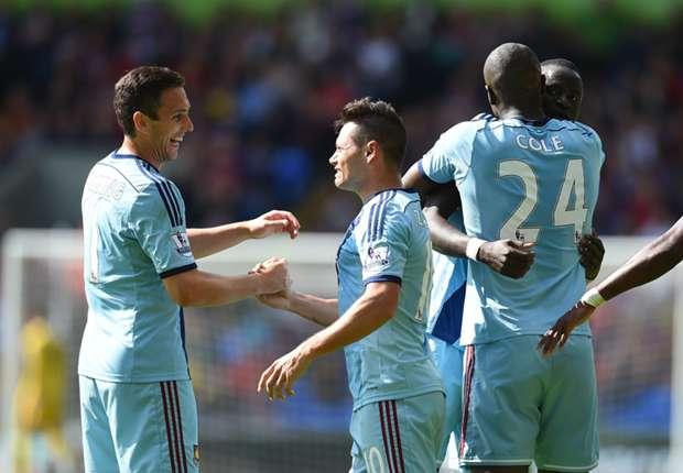 West Ham forward Mauro Zarate