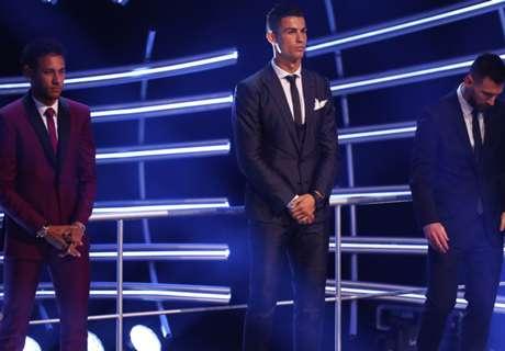 Neymar Senang Bisa Berada Di Antara Ronaldo Dan Messi