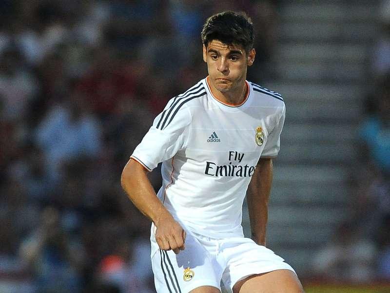 Morata laughs off Real Madrid exit rumours