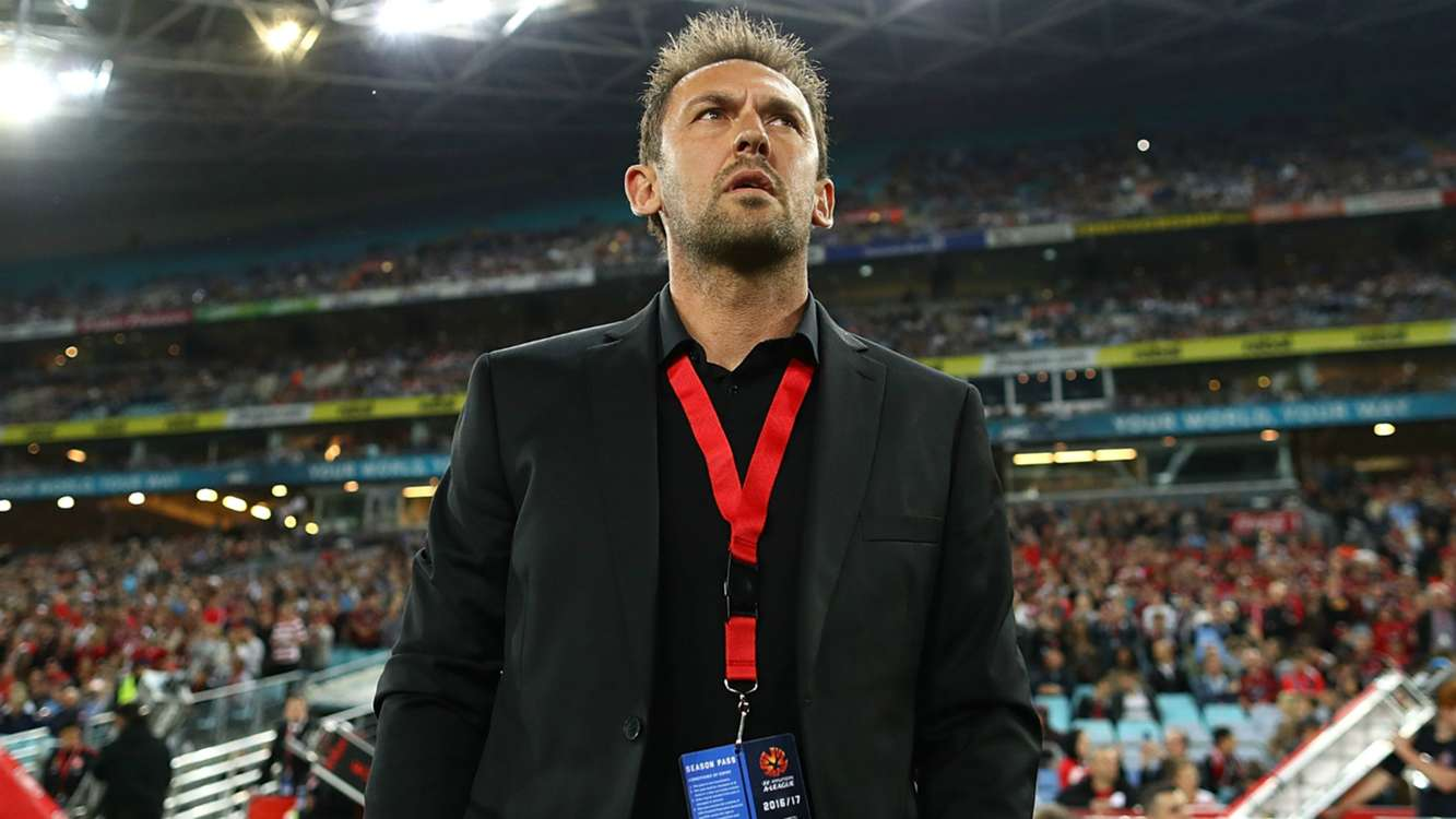 Tony Popovic speaks about speculation he will leave Western Sydney Wanderers