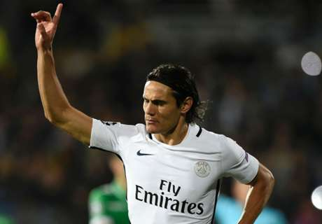Cavani brace saves PSG