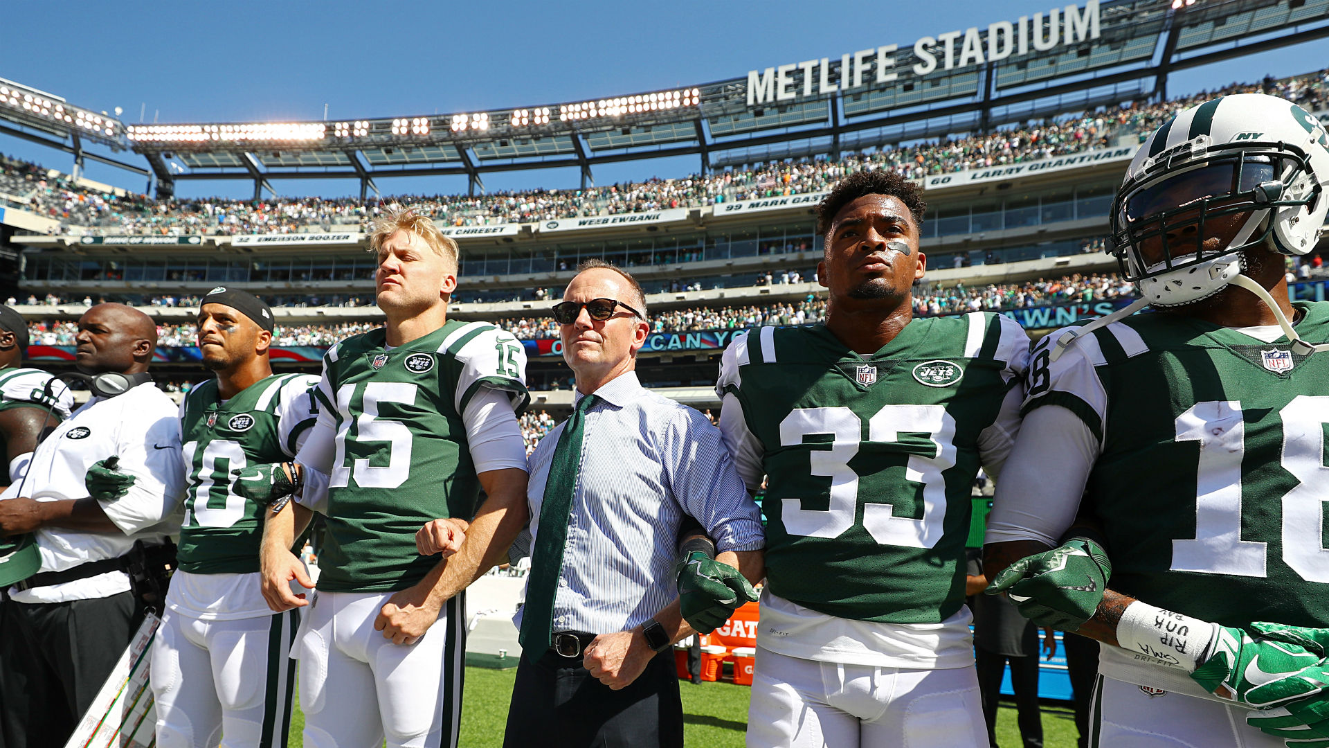 Congressman Peter King Calls Jets' Stance On National Anthem Protests 'Disgraceful'