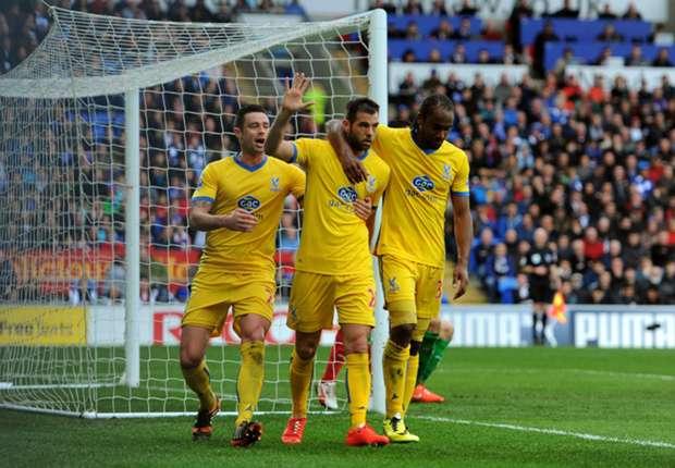 Pulis praises Ledley's form for Crystal Palace