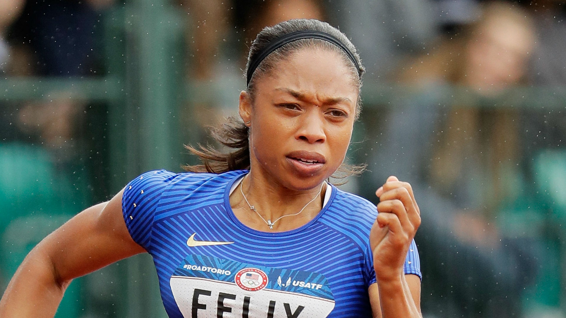 'The speed just wasn't there' for Allyson Felix