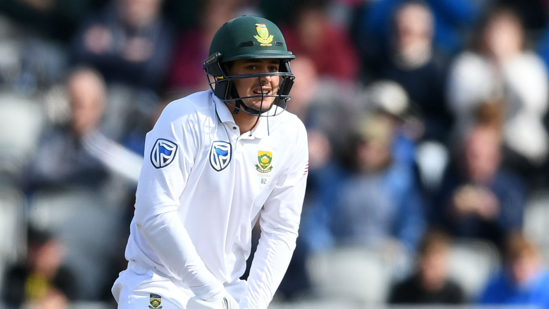 South Africa gain control through AB de Villiers's 74
