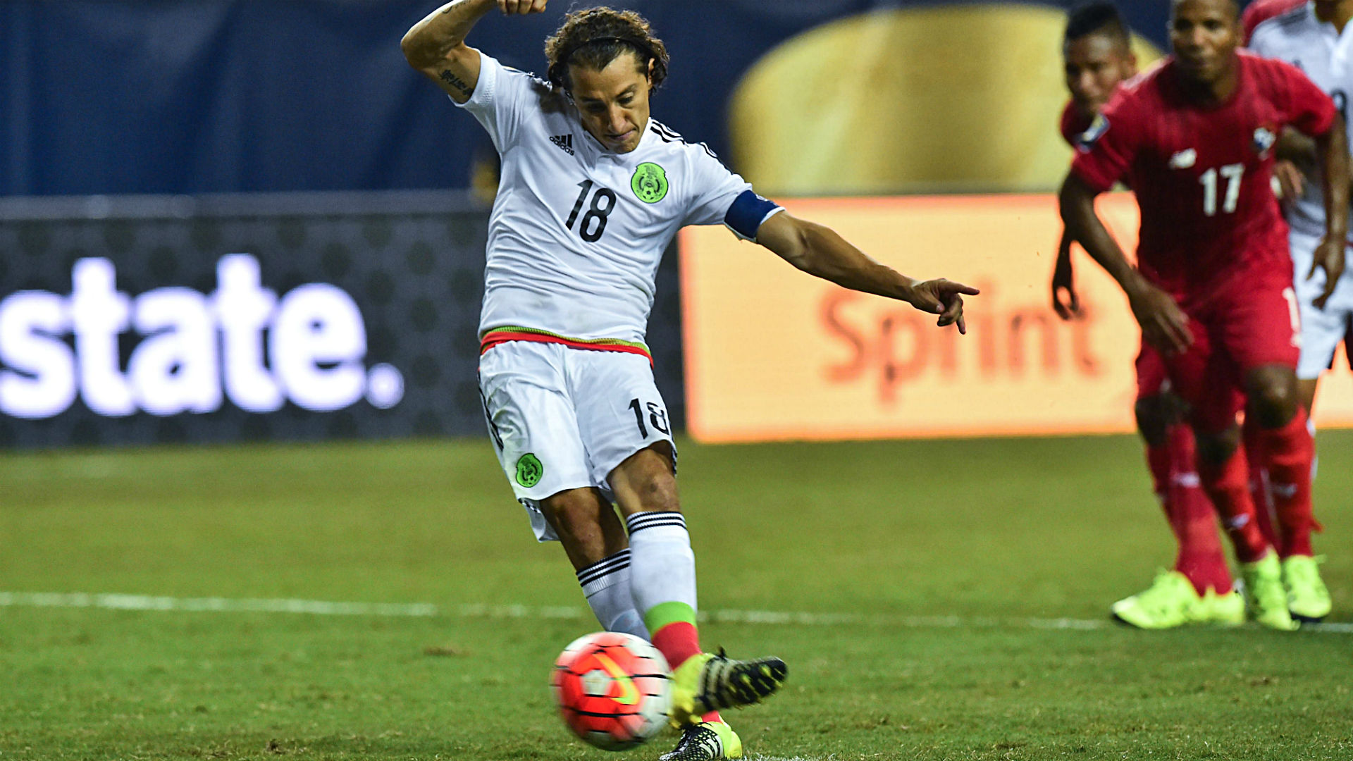 Mexico's Andres Guardado