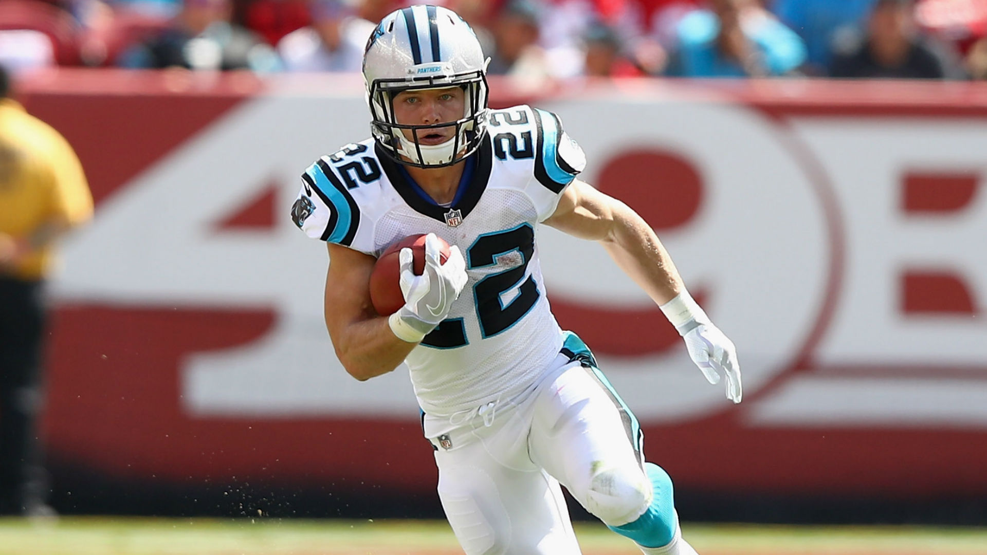 Panthers RB Christian McCaffrey leading NFL in receptions over last eight weeks
