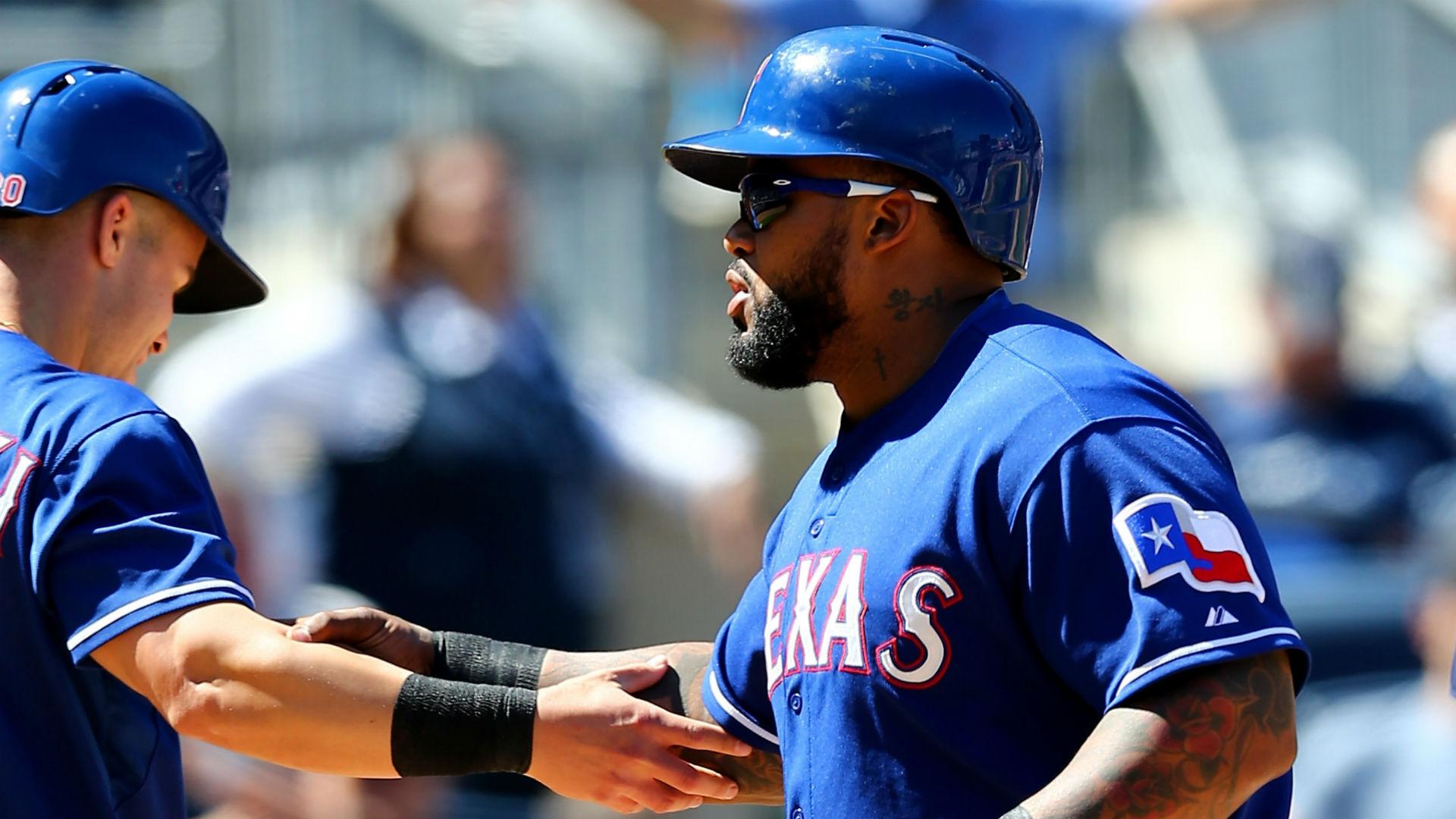 Prince Fielder Rangers Uniform MLB Nightly 9 Prince Fielder
