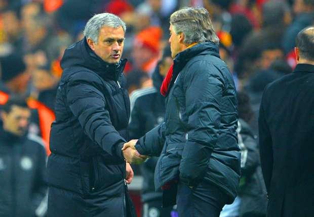 'Mourinho doesn't like to have friends' - Mancini