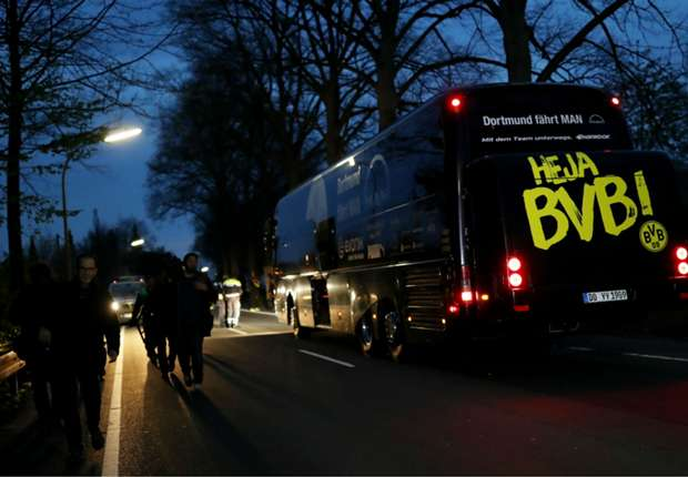 Dortmund bus blast treated as 'targeted attack' as police confirm letter found at crime scene