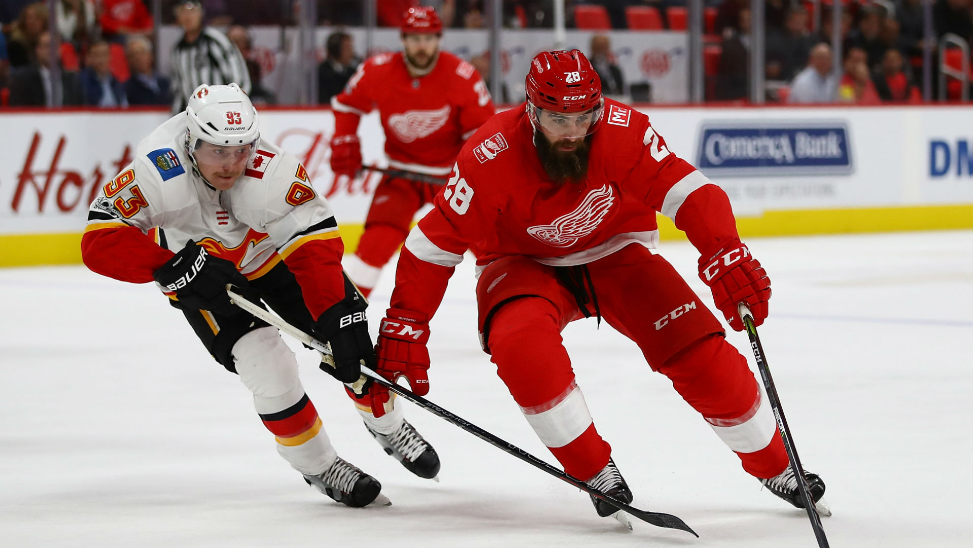 Luke Witkowski suspended for role in Red Wings brawl