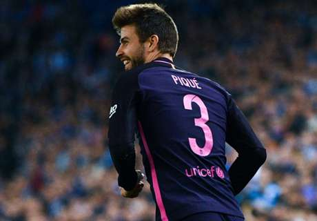 Pique enjoys Espanyol and Madrid