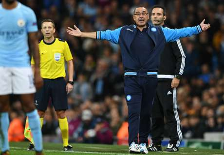 Napoli boss angry with slow start vs Man City
