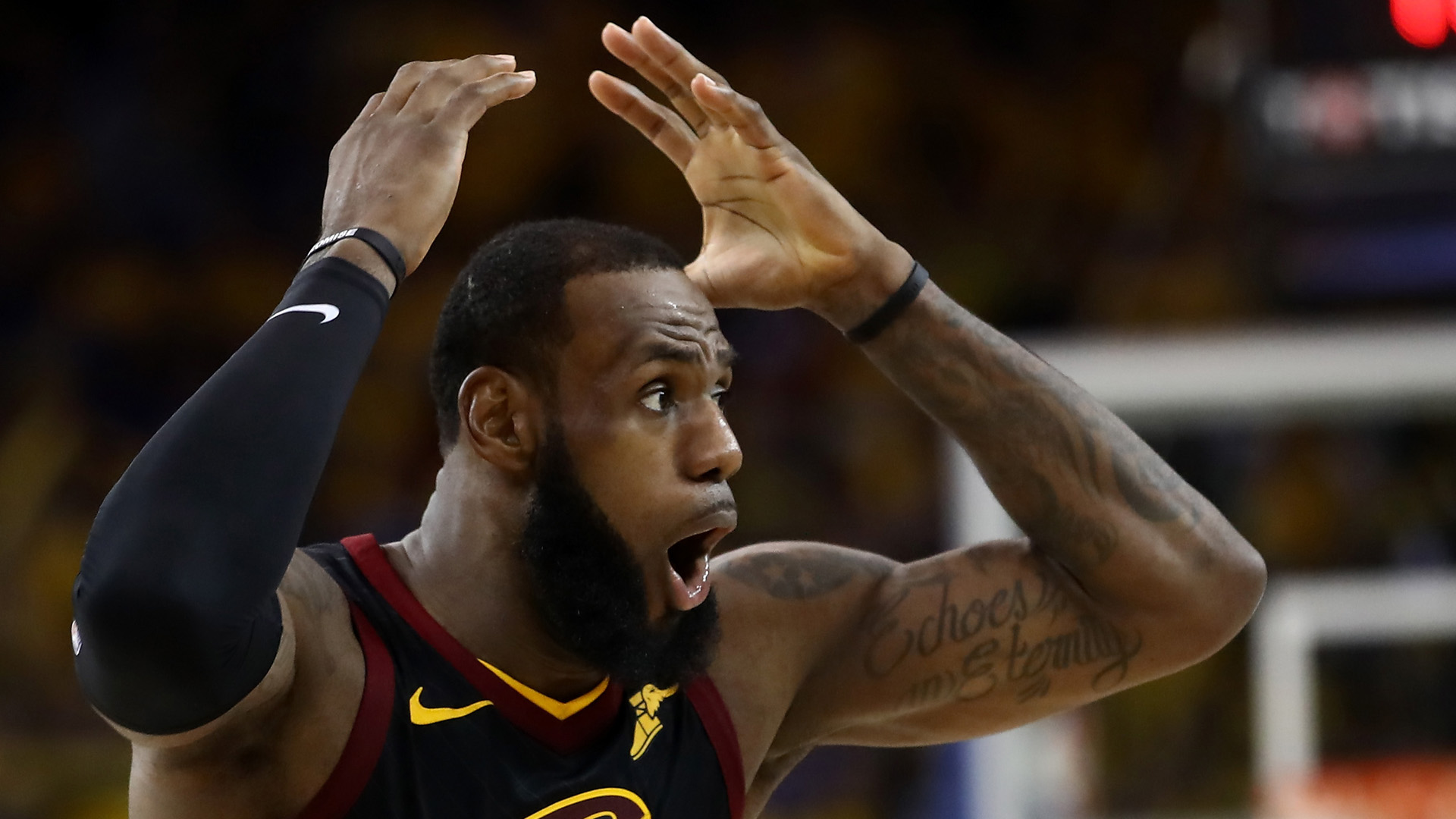 NBA Finals 2018: Warriors overcome 51 points by LeBron James to win Game 1 in OT   NBA ...