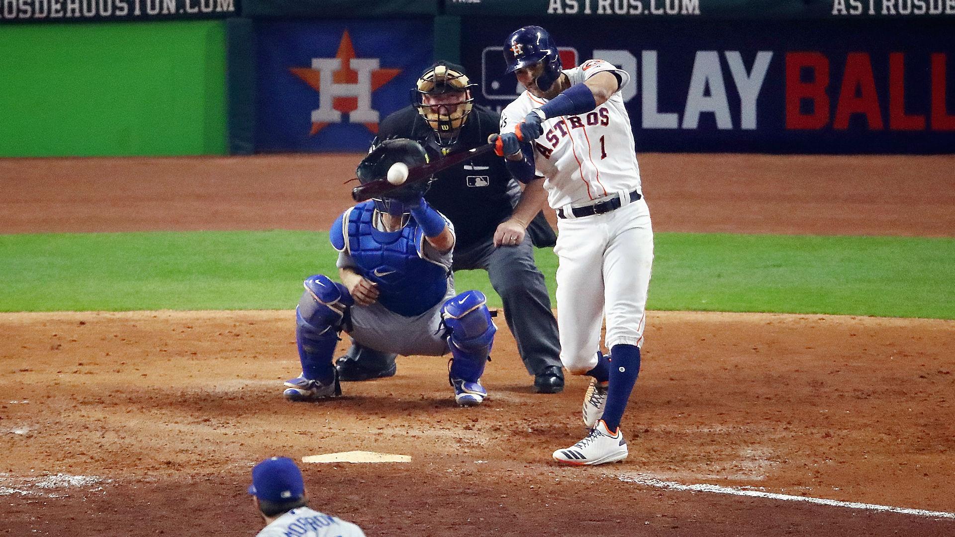 World Series 2017: Carlos Correa's home run in Game 5 sets ...