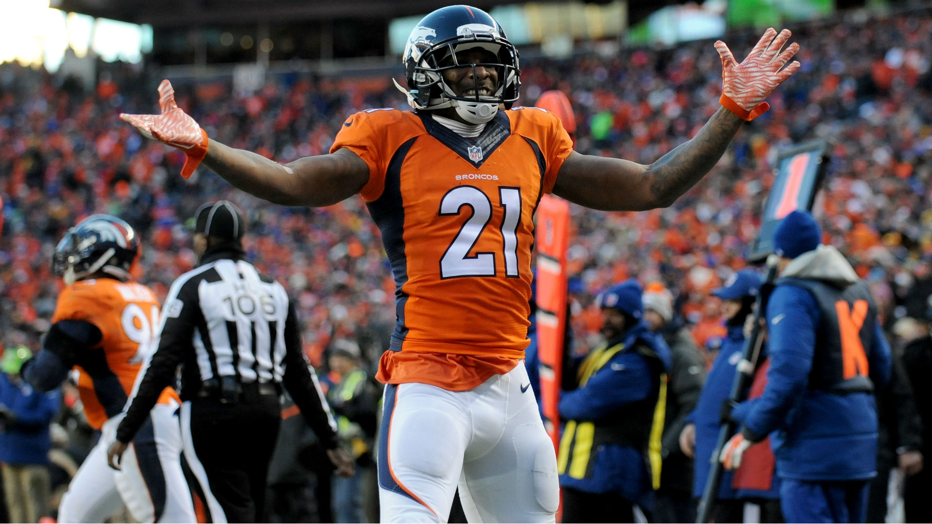 Aqib Talib s grandmother put the fear of God in him with her 38