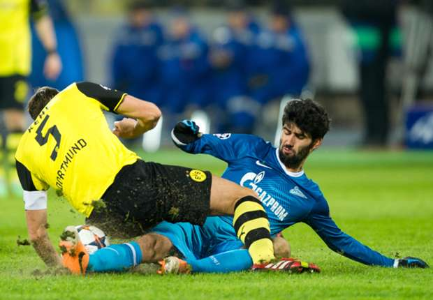 Borussia Dortmund-Zenit Preview: Reus a doubt & Arshavin sidelined as Russians look for a miracle