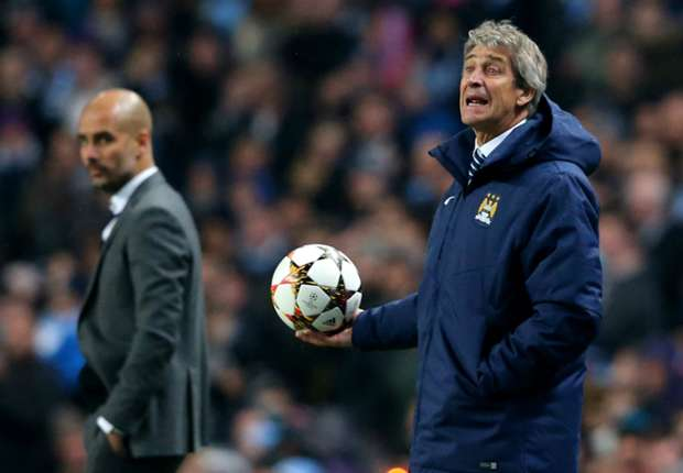 Pellegrini blames Guardiola for Manchester City's failed title bid