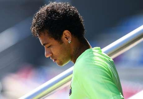 Neymar Mogok Latihan