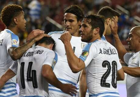 Uruguay 3-0 Jamaica: Closing win