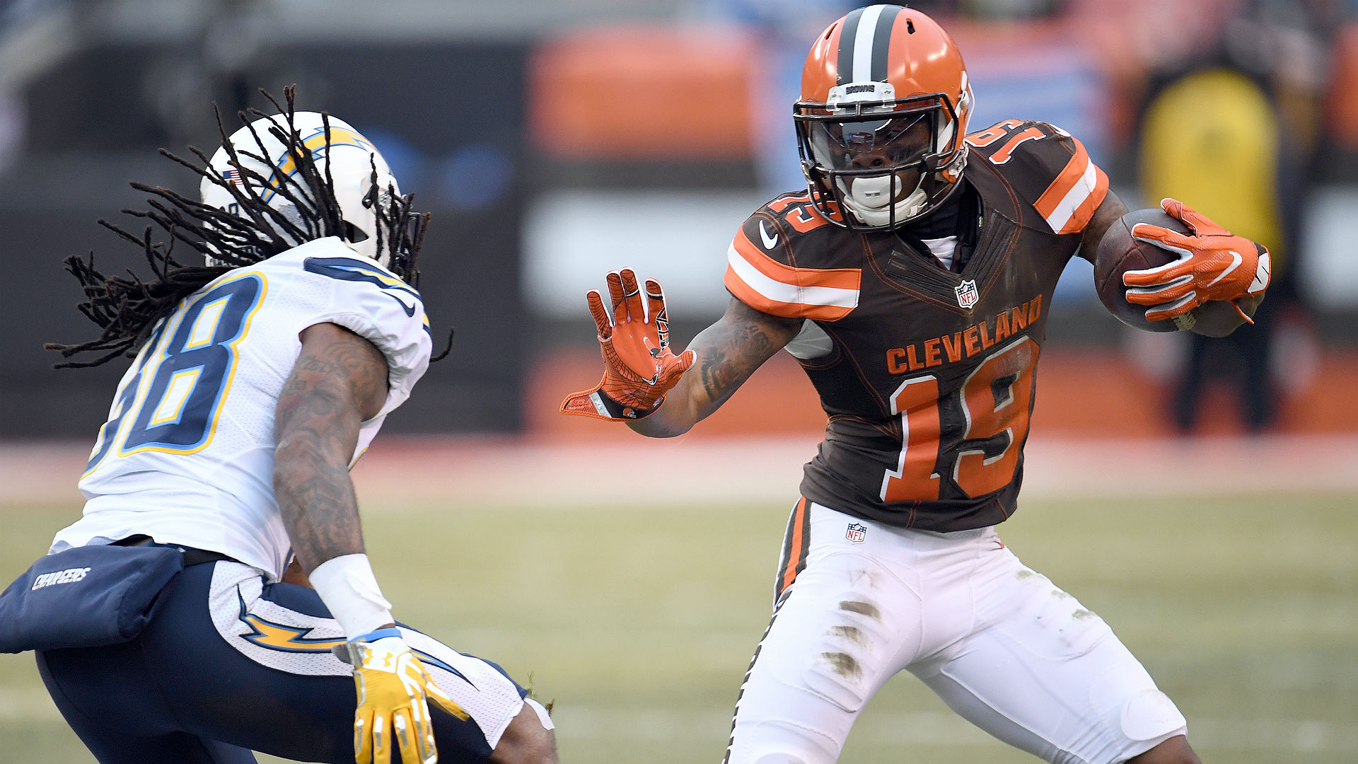 'Hard Knocks' shows Corey Coleman asked Browns to trade him