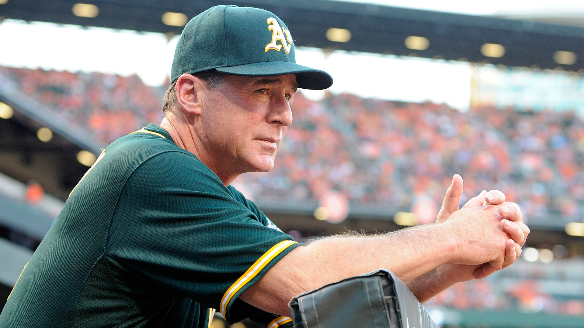 A's manager Bob Melvin