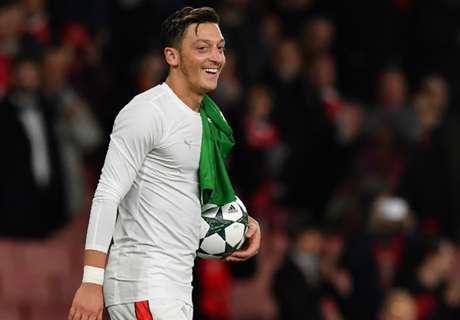 Ozil not ruling out Madrid return