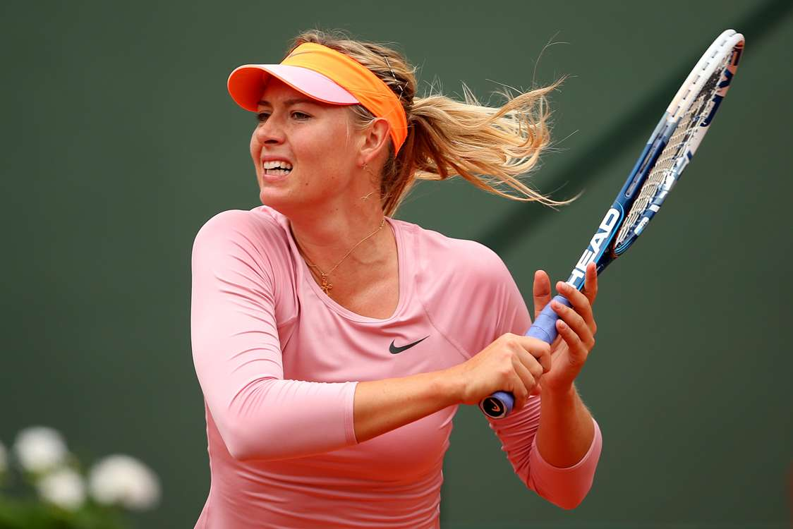 Sharapova makes winning start, Jankovic made to sweat