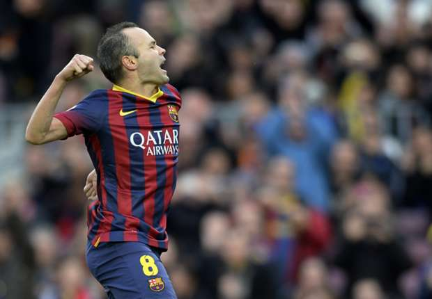 Iniesta delighted with Barcelona extension