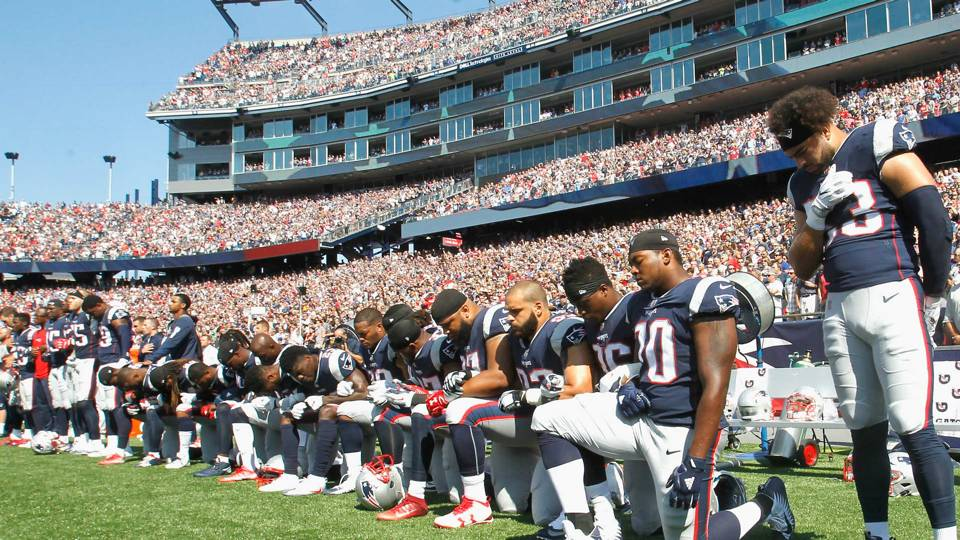 1d52cc315 NFL players from at least 7 teams reportedly told to stand for anthem