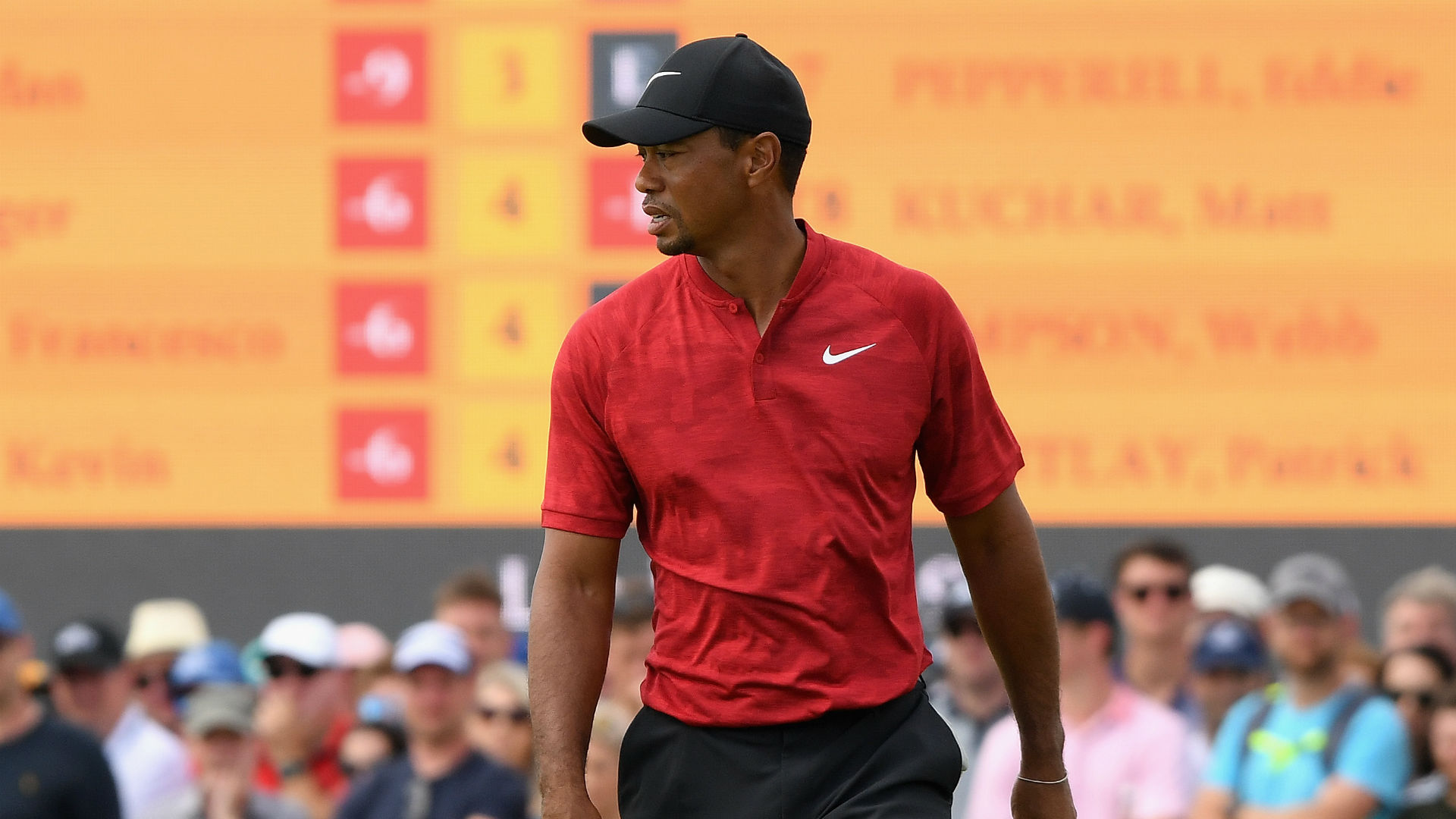british open 2018  tiger woods makes his move as jordan