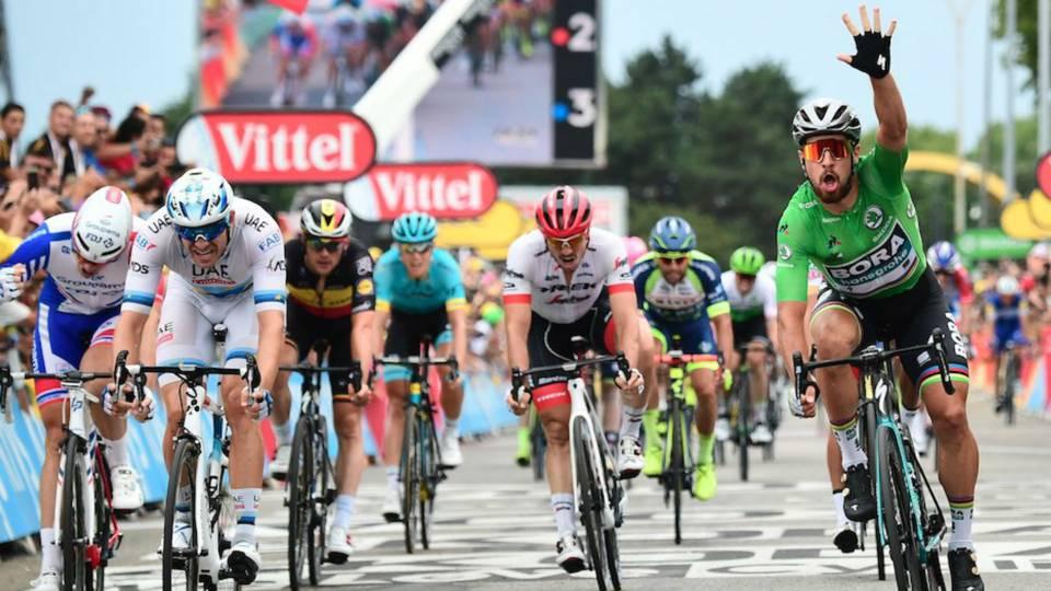 Tour de France 2018  Peter Sagan completes hat trick after bunch sprint 36fa432f5