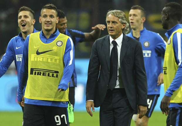 Mancini: Inter must go for the Serie A title