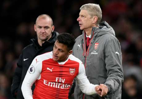 Alexis left bloodied after Arsenal win