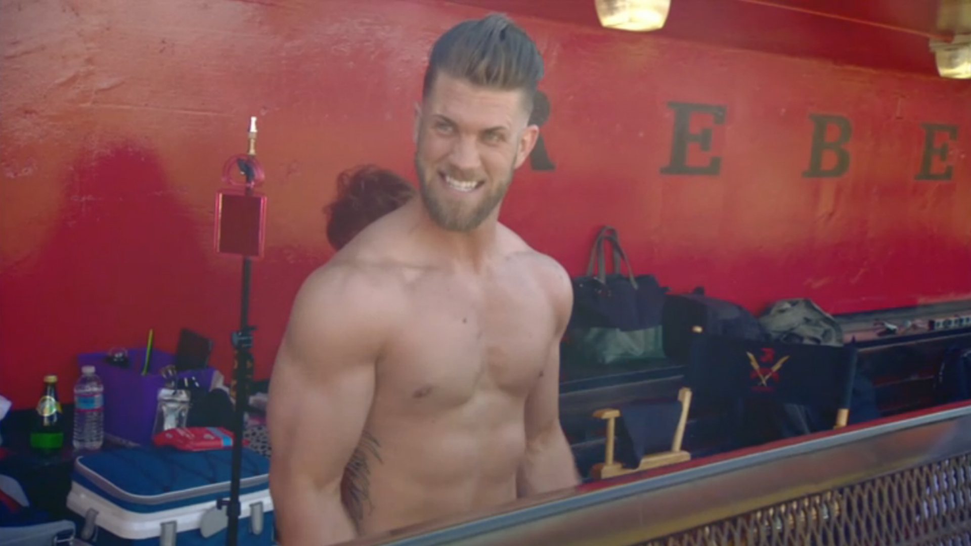 Bryce Harper Workout for MLB | Muscle Madness