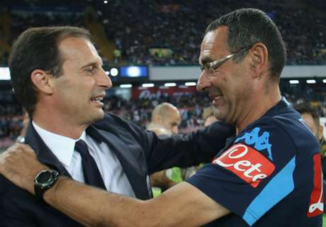 Sarri: For once, I beat Allegri!