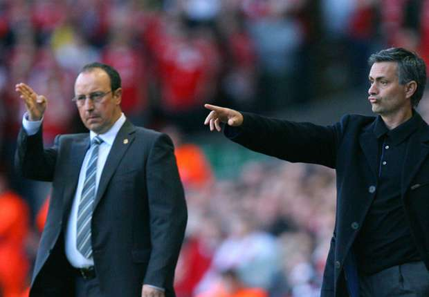 Benitez cool mourinho war of words