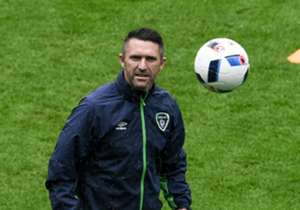 Republic of Ireland striker Robbie Keane